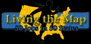 Il logo del sito web www.livingthemap.com