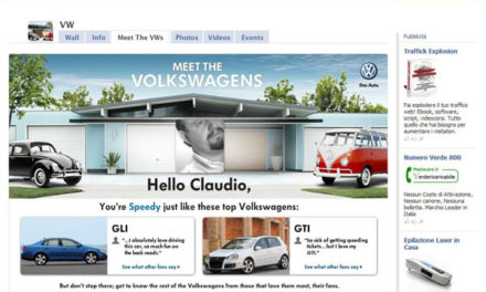 Very Social Volkswagen Context Ads
