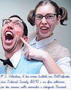 San Valentino a Bucarest con BitDefender