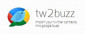 Importare i contatti Twitter in Google Buzz
