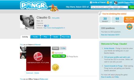 Web Marketing Trends 2011: sarà l'anno di Pongr.com?