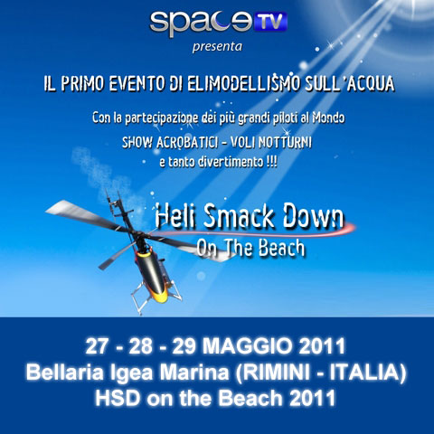 WOW, the Heli SmackDown on the Beach 2011