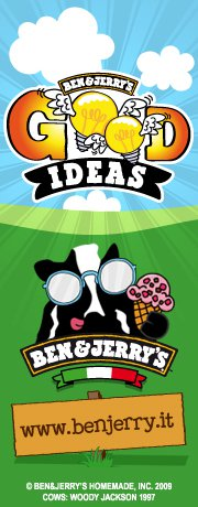 Fundraising e Social Media Marketing: Ben & Jerry's for Good Ideas