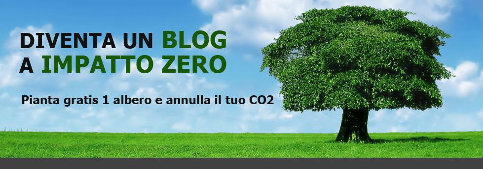 Carbon Neutral per l'Italia: questo blog è a impatto zero!