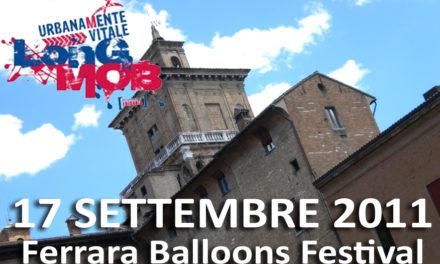 A Ferrara Urbanamente Vitale Long Mob, dal 16 al 18 settembre. Io ci sarò!