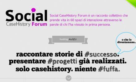 A Milano arriva Social CaseHistory Forum