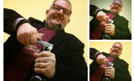 Live tasting in hangout del vino Nipozzano Vecchie Viti di Frescobaldi