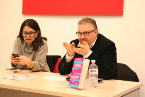 Domitilla Ferrari e Claudio Gagliardini a Cremona