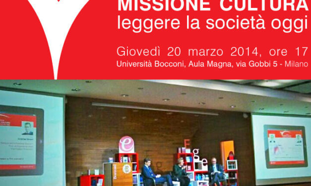 Missione Cultura, a Milano, per i 25 anni di Egea