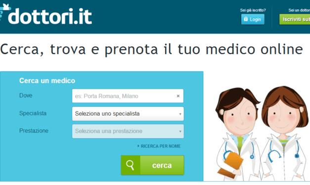 Medici e Dottori, aumentano le ricerche in rete