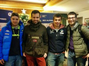 Con Mattia Casse e Matteo Marsaglia