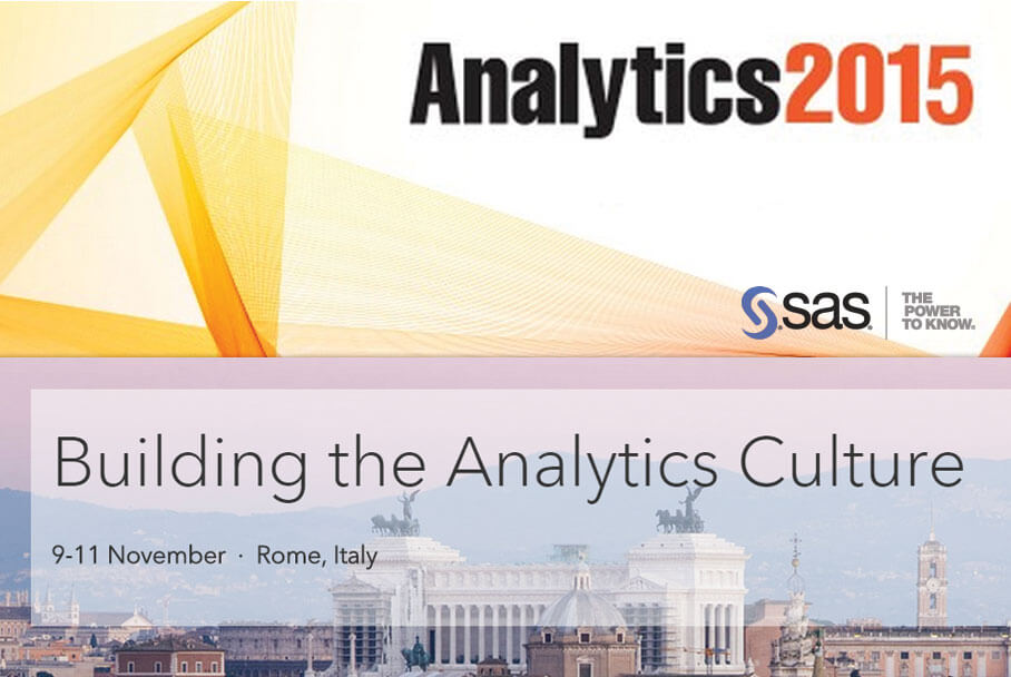 Analytics 2015 Conference a Roma