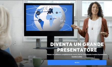 Prezi supera i 60 milioni di utenti e ora parla anche italiano
