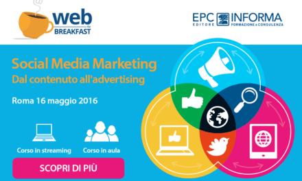 Il 16 maggio a Roma corso Social Media Marketing in EPC