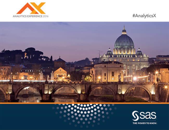 SAS Analytics Experience Roma 2016