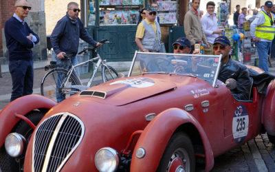 La Mille Miglia passa da Cremona