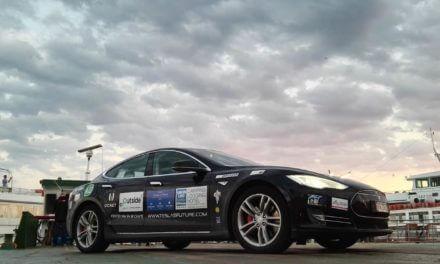 Da Gorizia alla casa di Nikola Tesla e in Russia con una Tesla Model S