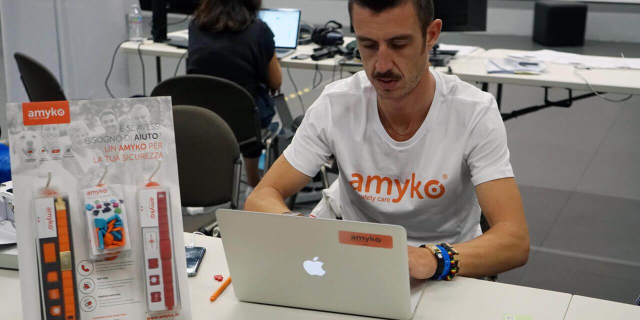 Salute: un braccialetto e una App per Amyko