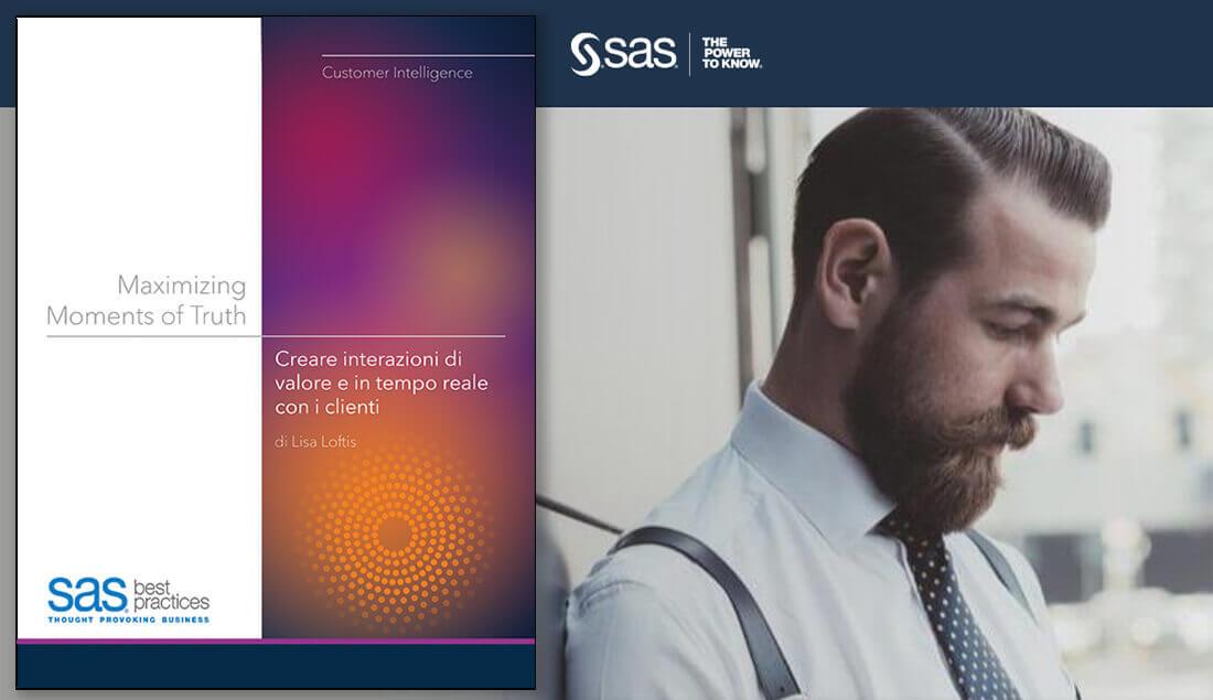 Maximizing Moments of Truth, il nuovo whitepaper di SAS a cura di Lisa Loftis