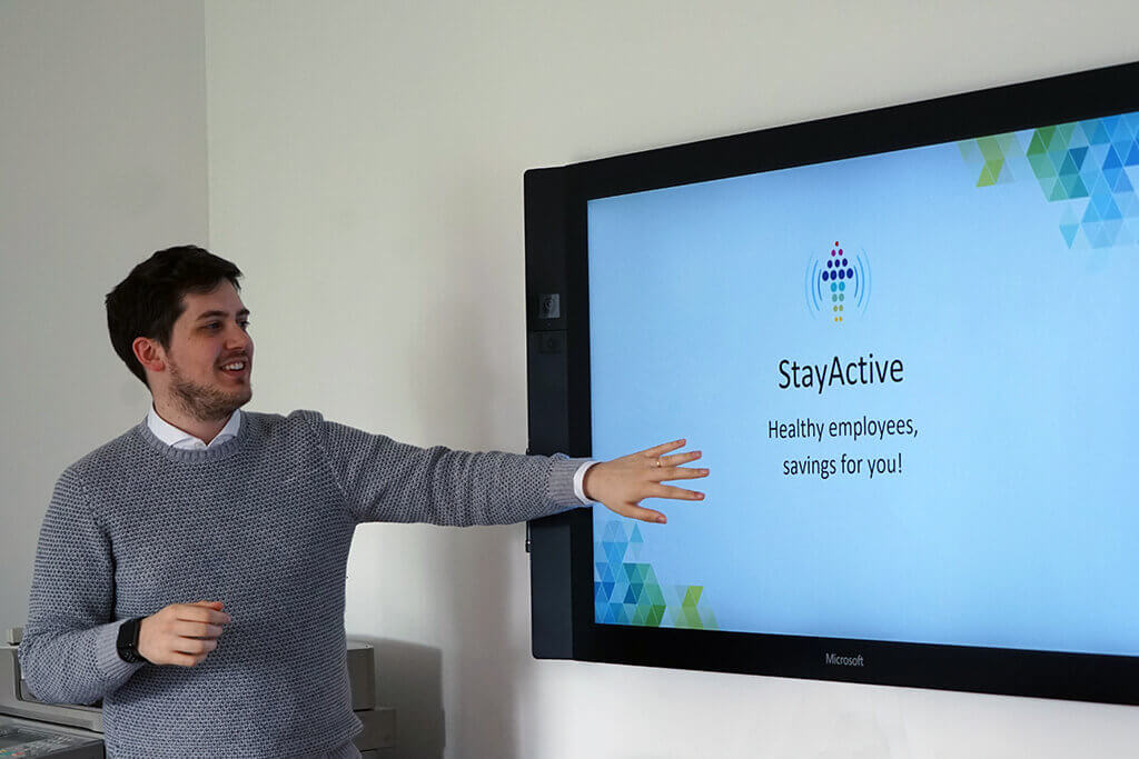 Francesco Dulio, CEO di StayActive