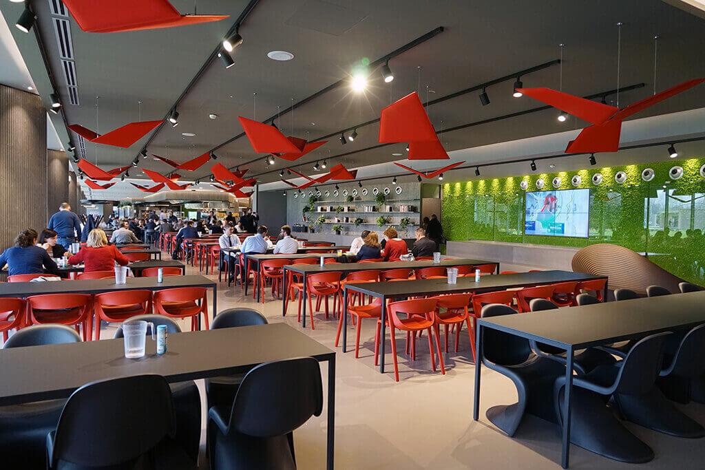 Il nuovo ristorante aziendale