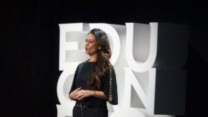 Giusy Versace a EDUcanDO di Banca Mediolanum