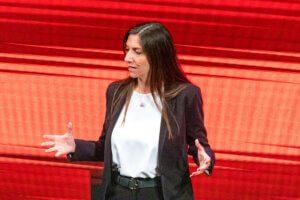 L'Onorevole Anna Ascani