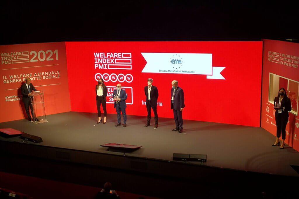 La premiazione dei Welfare Champion 2021